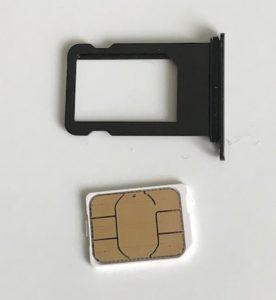 iPhone SIMカード