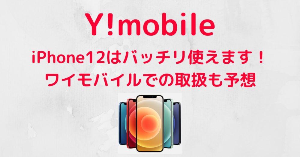 モバイル iphone12 ワイ